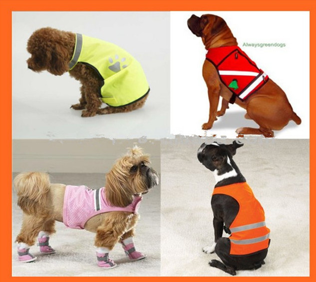 safety sexy pet vest dog clothes