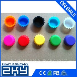 Colorful Silicone Beer Savers Silicone Beer Bottle Covers
