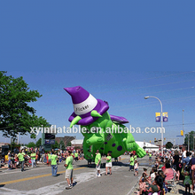 2017 Hot selling Green inflatable dragon,Inflatable Puff the Dragon for Parade
