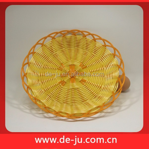 Round Plastic Tableware Small Fruit Nuts Candy Round Baskets