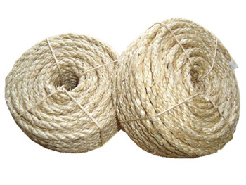 6mm 3 strand sisal rope for cat scratching - Sisal Rope
