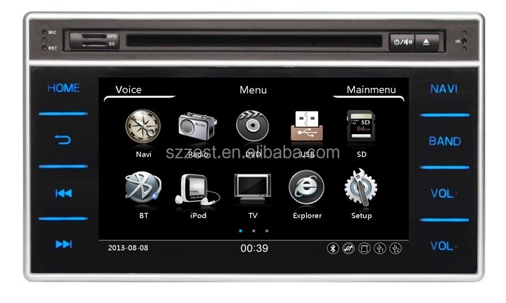ZESTECH car dvd gps radio player for toyota hilux 2016 gps/radio/dvd/mp5
