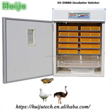 all accessories included automatic 24pcs ostrich egg incubator for sale HJ-IH880