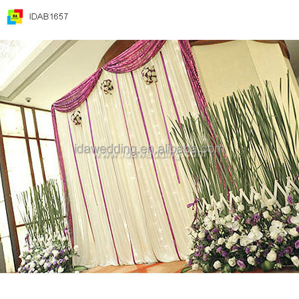 2014 newest design for wedding curtain