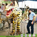 4.1m long foam dinosaur costume