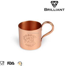 Stainless steel barware 100% copper moscow mule mug
