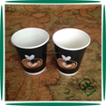 Disposable custom logo 12 oz double wall wholesale tea cups