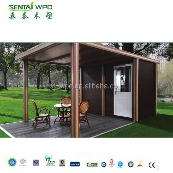 High Quality WPC professional anti aging container coffee shop