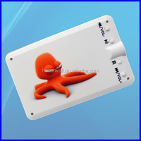 Picture Option Imprint Credit Card mp3 Players With Memory Card Slot