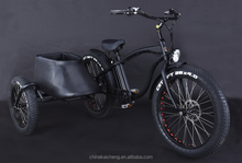 250w 500w 3 wheel Electric bicycle with lithium battery E-POST cargo trike e bike e-bike KCET001