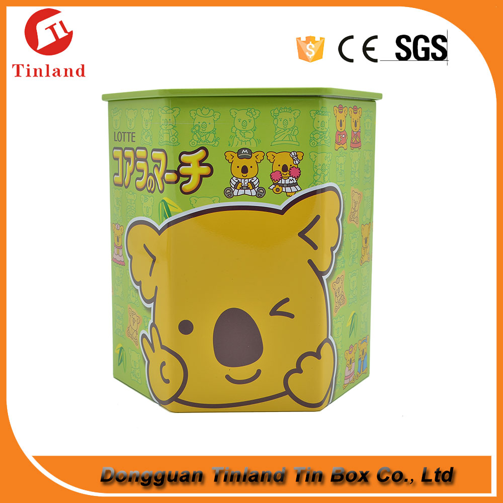 creative design cheap biscuit tin can metal can