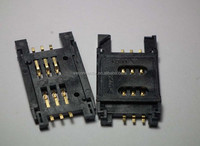 SIM CARD 2.54mm 6P Pedal-Lift Type connectors