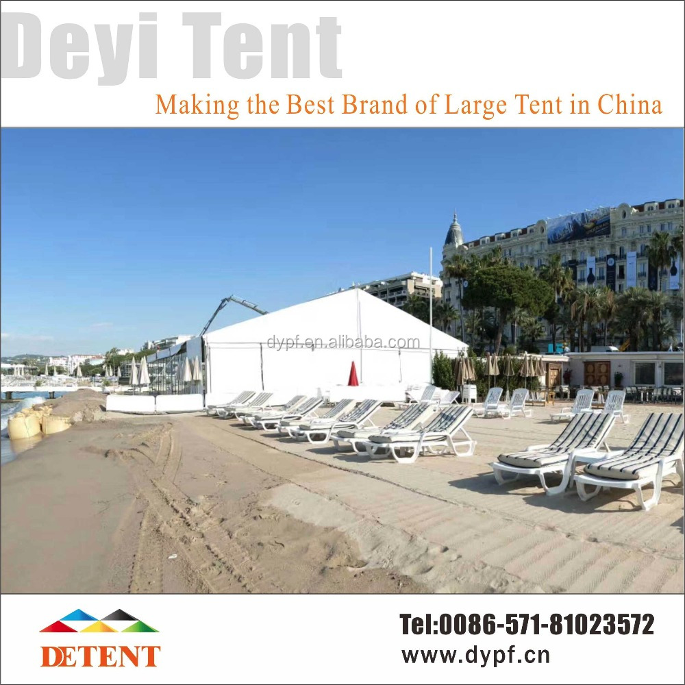 25x30m ABS / Glass Solid Wall Marquee Tents