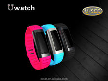 speaker and microphone bluetooth watch bluetooth watch for Android phone(U9)