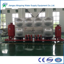 Newest design high quality no-welding square water storage tank