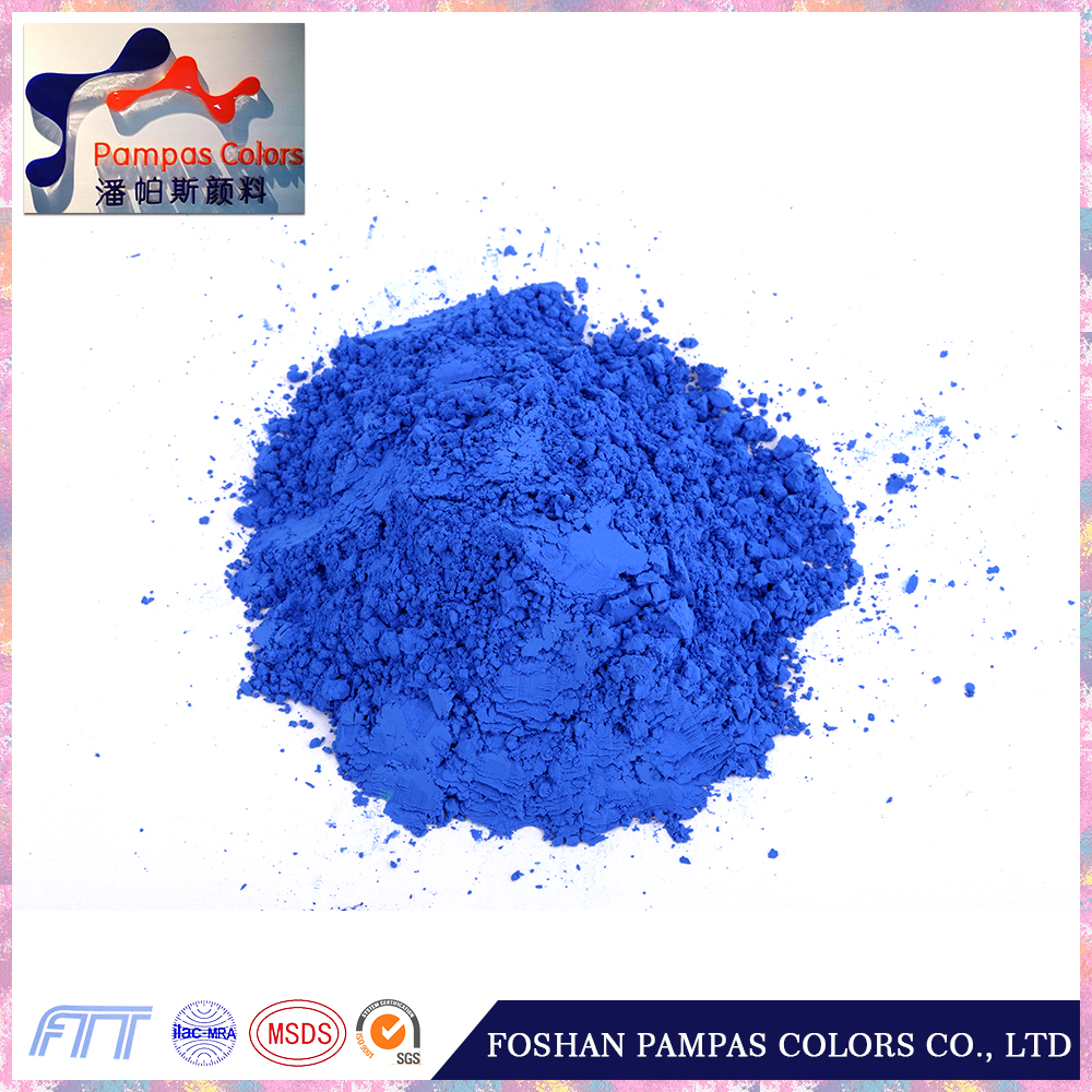 2017 foshan pampascolor Chemical color powder inorganic pigment iron oxide ferric blue 886 new products best quality