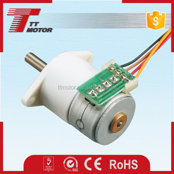 GM12-15BY micro 15mm stepper motor with mini motor gear box