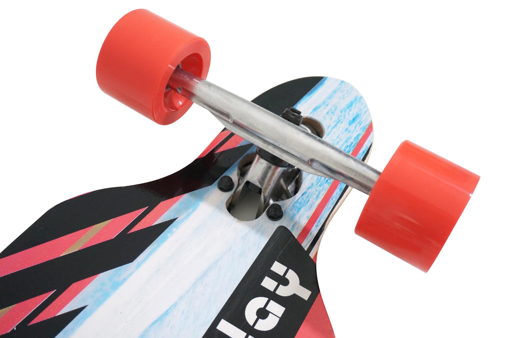 Fashion design Chinese esdoornhout lange board kids professionele houten skateboard