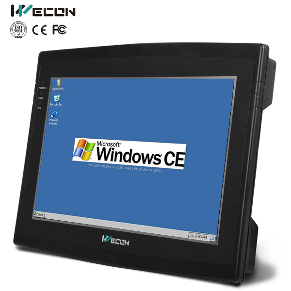 Wecon 10.2 inch cost-effective fanless mini industrial pc