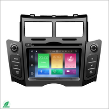 7 inch touch screen Car Stereo, Autoradio DVD GPS Navigation for TOYOTA Yaris 2005-2011 with map, bluetooth, 3D UI