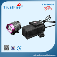Led ring light!TrustFire D008 Led headlight,night light bicycle accessory Led bike light,powerful flashlight torch with Cree Led