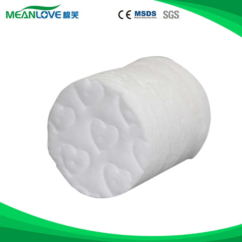 Medical absorbent cotton wool roll disposable exfoliating pads