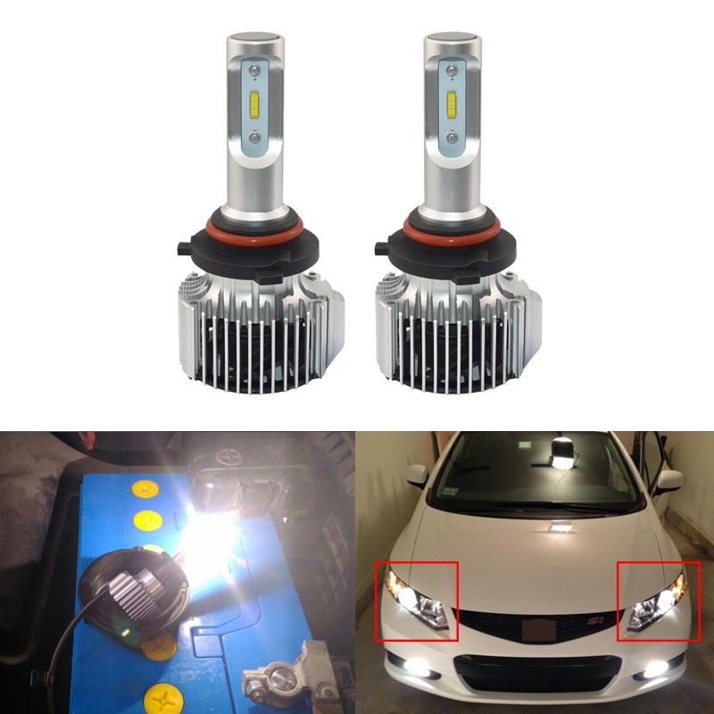 For Nissan Note 2006-2012 Low High Beam Xenon H4 H4 Headlight Bulbs Set Lamp