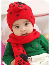 Hat manufacturers china handmade knitted baby hat kids cap and scarve set winter warm baby hats
