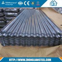 Building Materials Galvanized Corrugated Metal Zinc Roofing Sheet Manufacturer