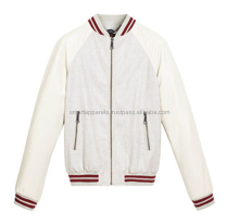 Custom Blue and White Varsity Jacket Wholesale +custom color, logo printing embroidery