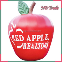 NB-IA2001 Inflatable Apple Cheap Newly designed Eco-friendly material for advertising