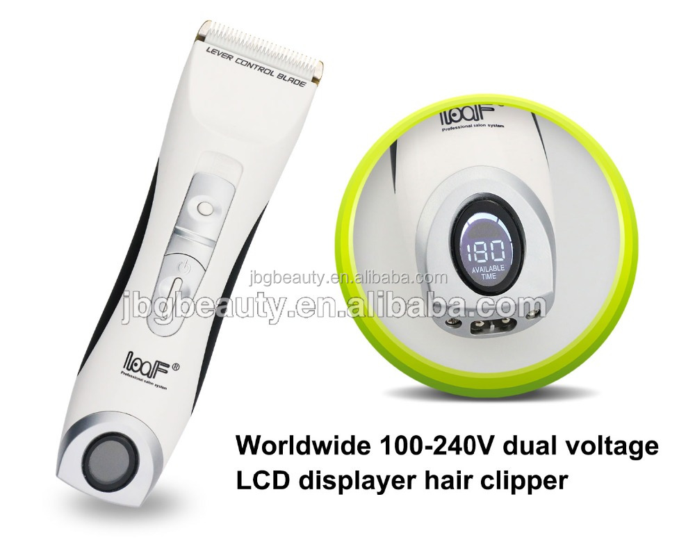 Home used hair salon equipment clipper machine Electric hair trimmer as seen on tv with CE certification