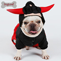 Winter Dog Jumpsuit Clothes Pet Cozy Coat KING Bull&Queen