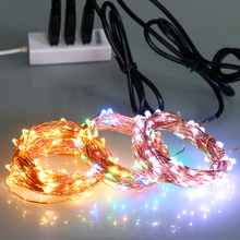 Cheap Price IP65 Waterproof Remote Controlled Copper Wire LED Lights String of Outside Lights