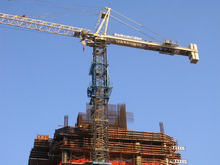 China self erecting tower crane specifications with CE certificate!