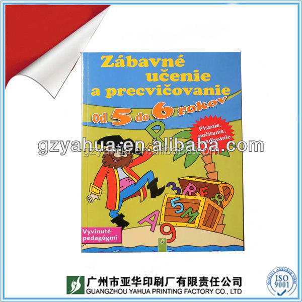 CMYK Printing Book for Children preschool Education overseas
