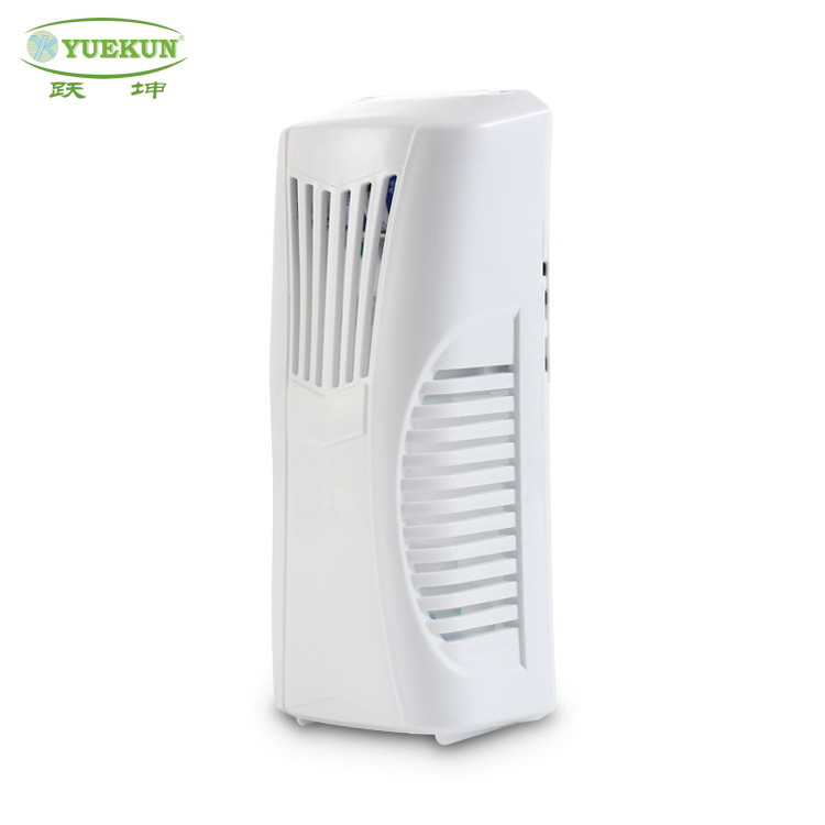 Eco-friendly battery source automatic spray air freshener/ electric fan perfume dispenser