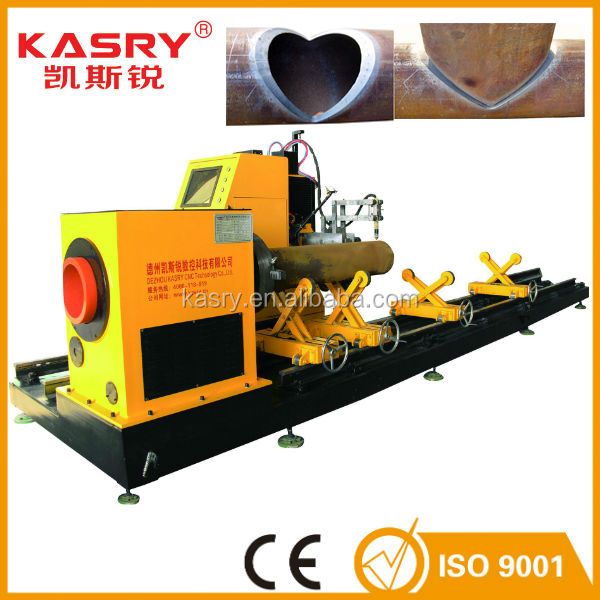 Plasma cnc pipe cutting machine better welding for steel structure industry KR-XY5