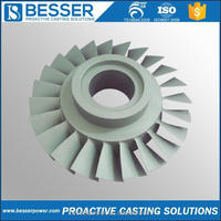 Besserpower OEM service available stainless steel casting valve automobile impellers