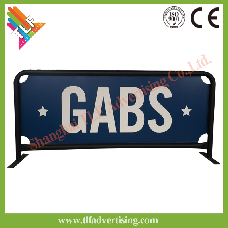 Hot Sale Cafe Breeze Barriers /Wind/advertising barrier with banner for Advertising