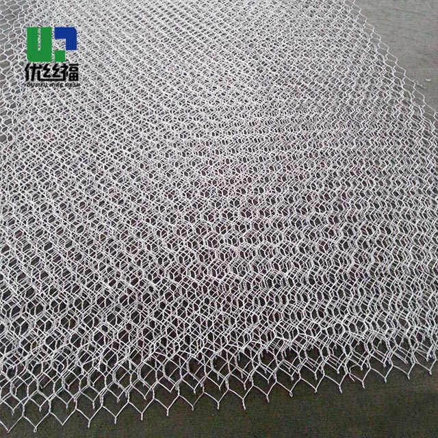 100mmx80mm gabion rolls hexagonal wire mesh hot dip galvanized 275g/m2