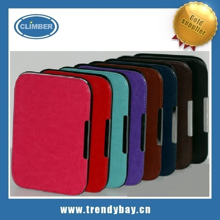 stand pu leather case for nook glowlight