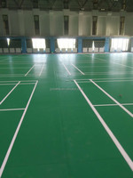 indoor pvc sports flooring for badminton hall