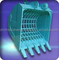 Abrasion resistant special bucket excavator with abundant supply
