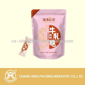 Colorful laminated candy bags wholesale/Shantou factory