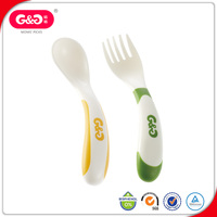 High Quality Comfortable Colorful Flexible Silicone Baby Spoon