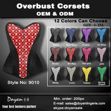 multiple color sexy fajas colombianas waist cincher plus size sexy slimming corset