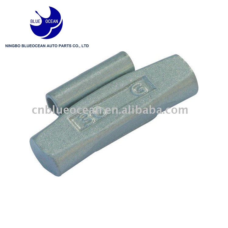China supply clip on type Fe wheel weight wheel balancing weight
