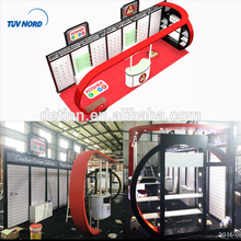 10 by 30 (or 10 by 20) slatwall exhibition stand design for trade show from Shanghai