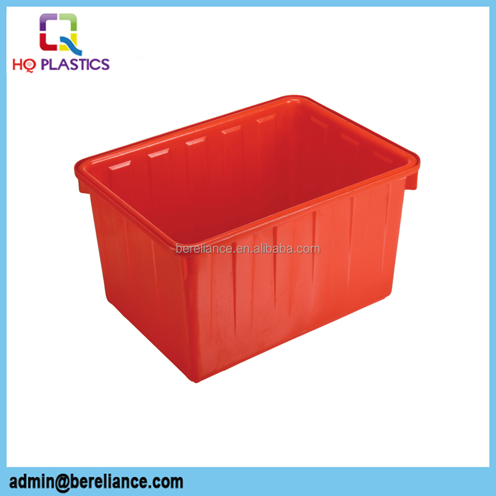 140L Big Square Plastic Storage Tanks for Water
